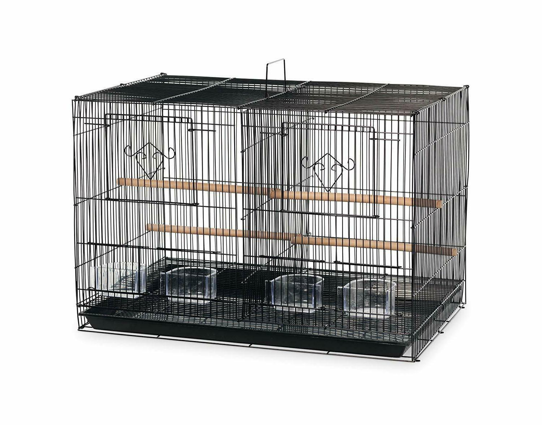 spf063 divided flight cage black