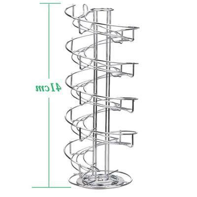 Toplife Spiral Design Steel Egg Rack,Storage