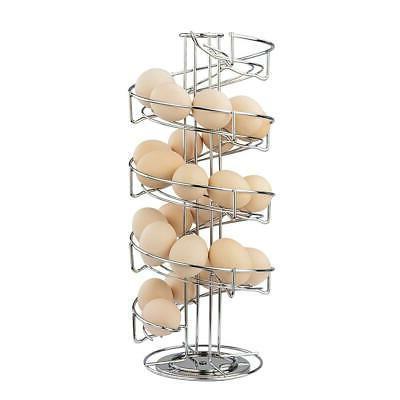 spiral design stainless steel egg skelter dispenser