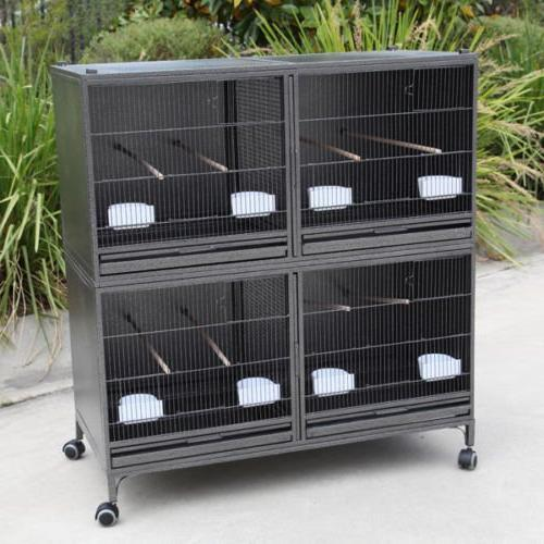 Mcage Extra Large Breeding Central Divider Canaries Finches Budgies Parakeets