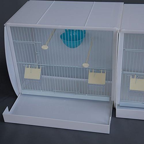 Lot 3 Stackable Canary Breeding Cage