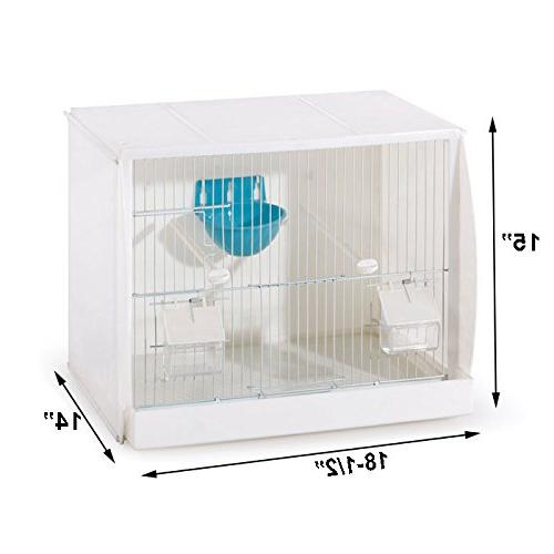 Lot 3 Stackable Canary Cage with Nest