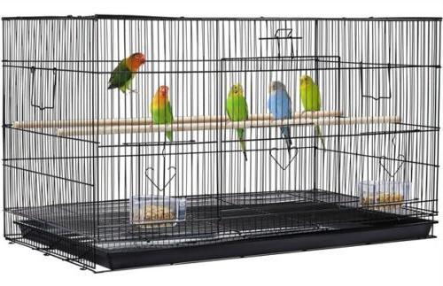 stackable flight finch parakeet bird cage