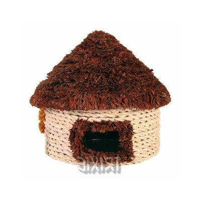 straw house for hamsters 16x16cm free shipping