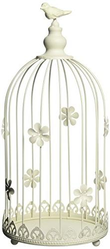 Sunshine Megastore Ivory Birdcage Candle Display