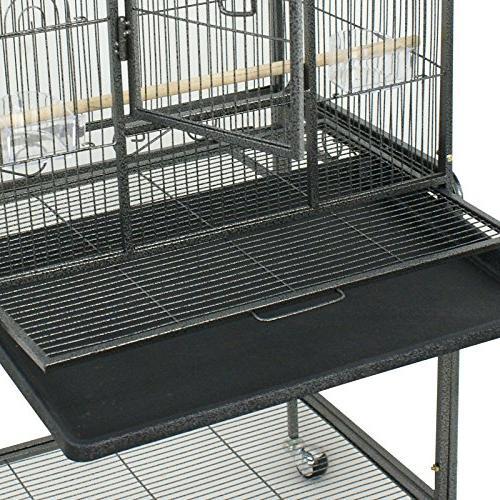 "SUPER DEAL 53"" Parrot Chinchilla Cage Cockatiel Pet 53"