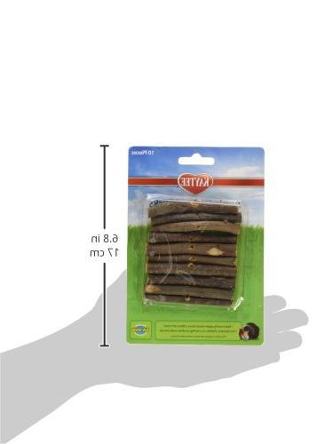 Superpet SSR61126 Wood Small Animal Apple Sticks, 10-Count