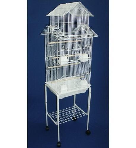 tall pagoda house canary parakeet