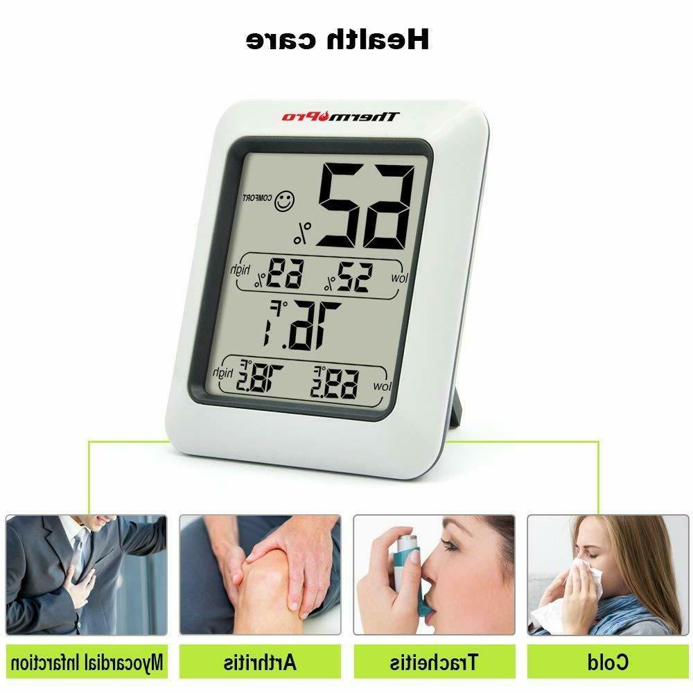 ThermoPro TP50 Digital Indoor Humidity with Gauge