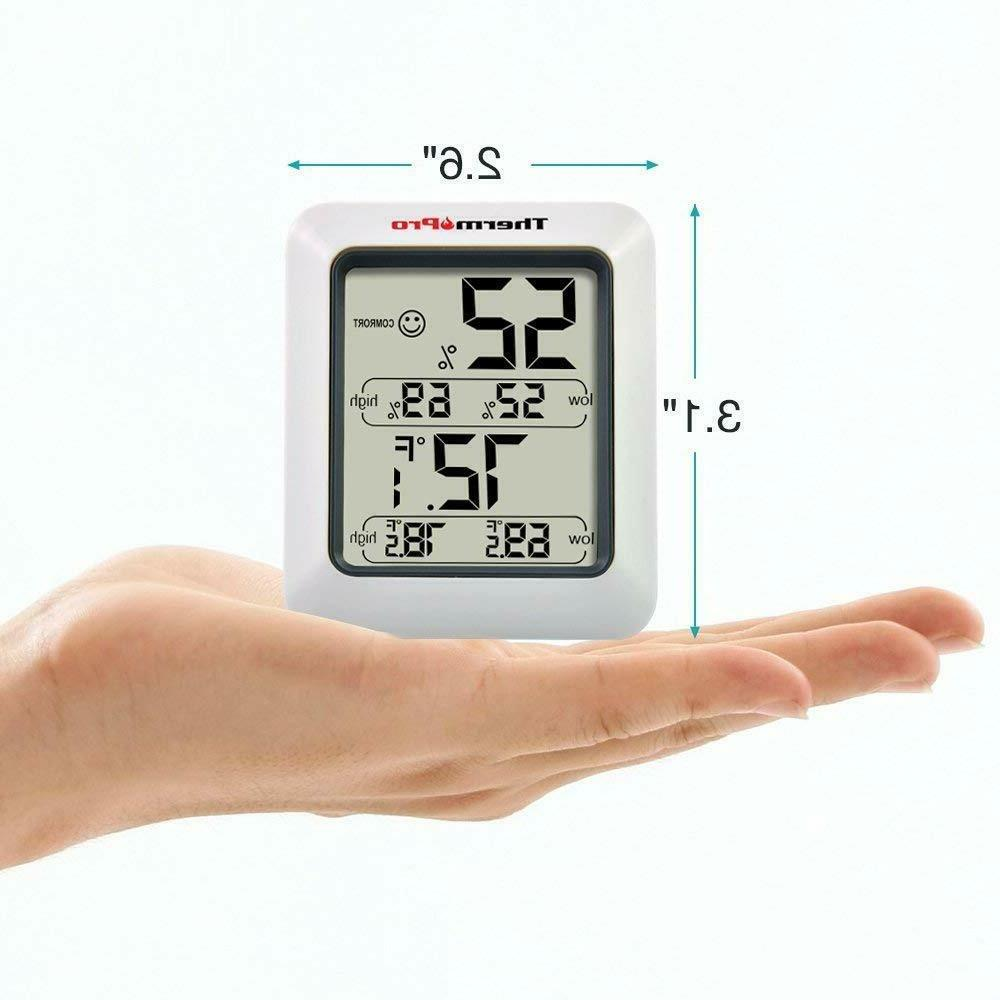 ThermoPro TP50 Indoor Thermometer Humidity Monitor with Gauge