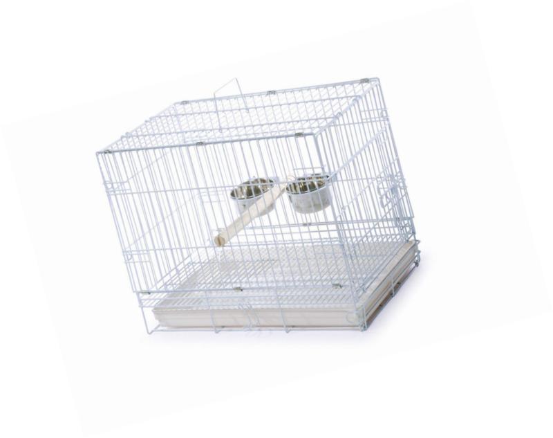 travel bird cage 1305 white 20 inch
