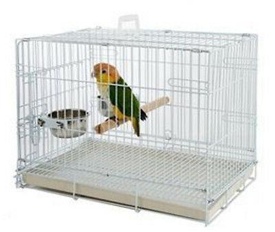 travel foldable parrot parakeet bird carrier cage