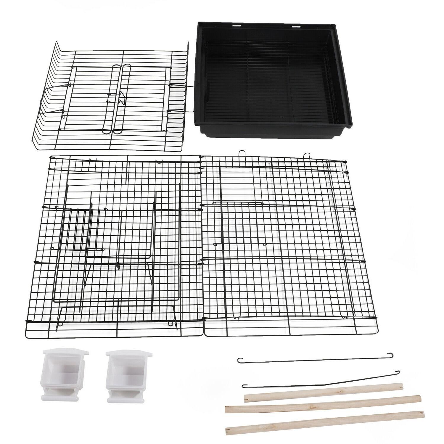 "23"" Supplies Cage with Open Play"