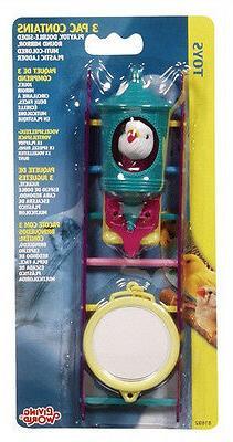 Hagen Living World VALUE PACK 3 TOYS ASSORTED. Bird Toys  Fo