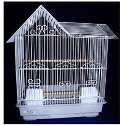 Villa Top Bird Cage - Color: Black