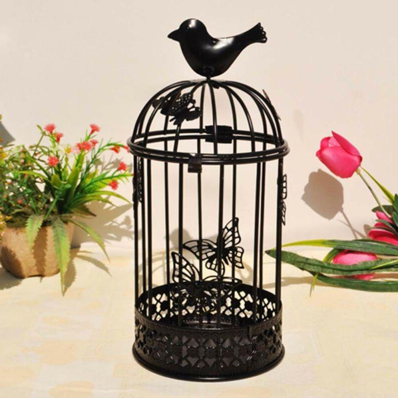 Vintage Metal Bird Candle Stand Hook Lantern Wedding Decoration NEW
