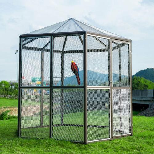 Walk-in Aviary Large Cages Macaw Hexagonal