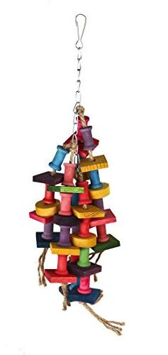 PetCee Wiggles and Wafers Toy for Birds 38x10 CM / 15x3.94 I