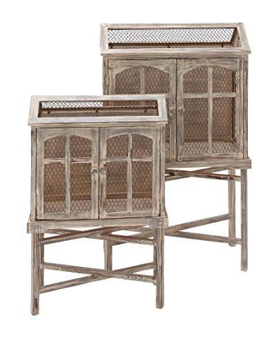 Benzara The Metal Bird Cage, of