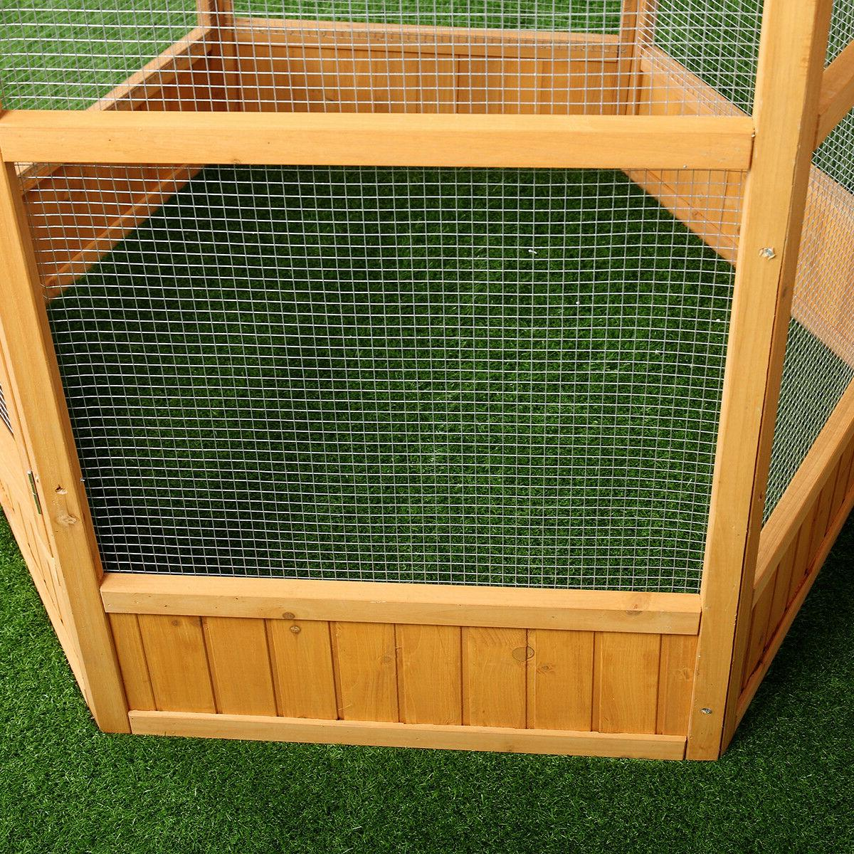 """64"""" Wooden Flight House Cage Ideal for Cat"""