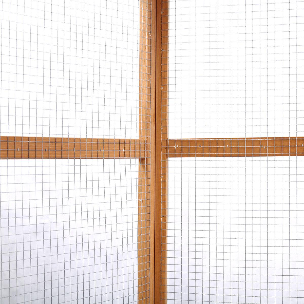 Wooden Large Pet Cage In Aviary Play House Heavy