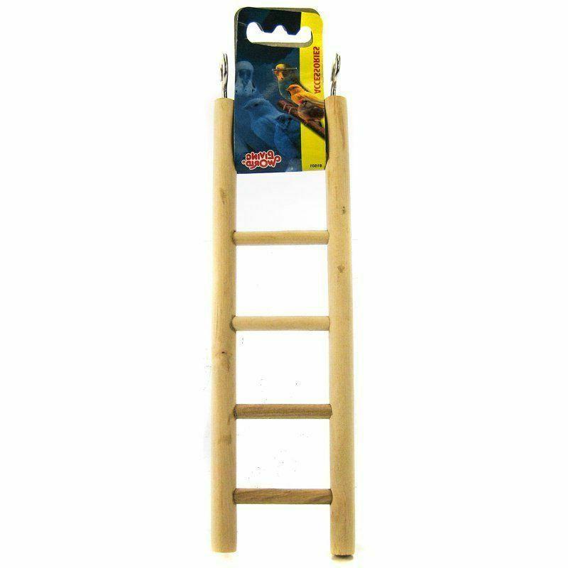 Living World Wooden Ladder, 5 Steps