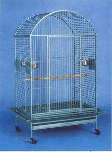 "Large Wrought Iron Bird Cage Parrot Cages Macaw Dometop 36""x"
