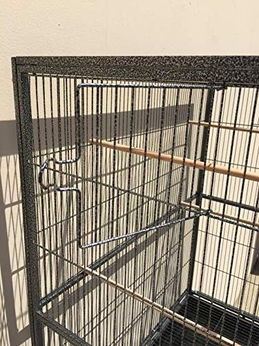 Large Iron Flight Canary Finch With Stand Cage,
