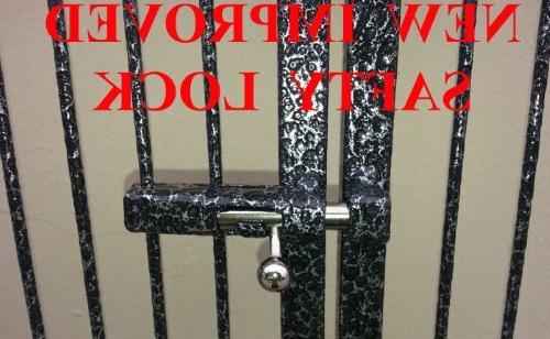 Large Wrought Iron Play With Double Ladders Include Metal Guard and Play Vein*
