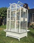 NEW Large Wrought Iron Open Dome Play Top Parrot Macaw Cocka