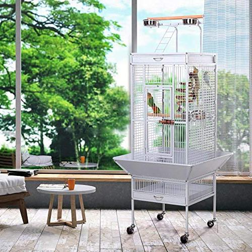go2buy Iron Bird Cage Birdcage Stands