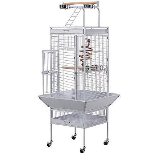 wrought iron select bird cage