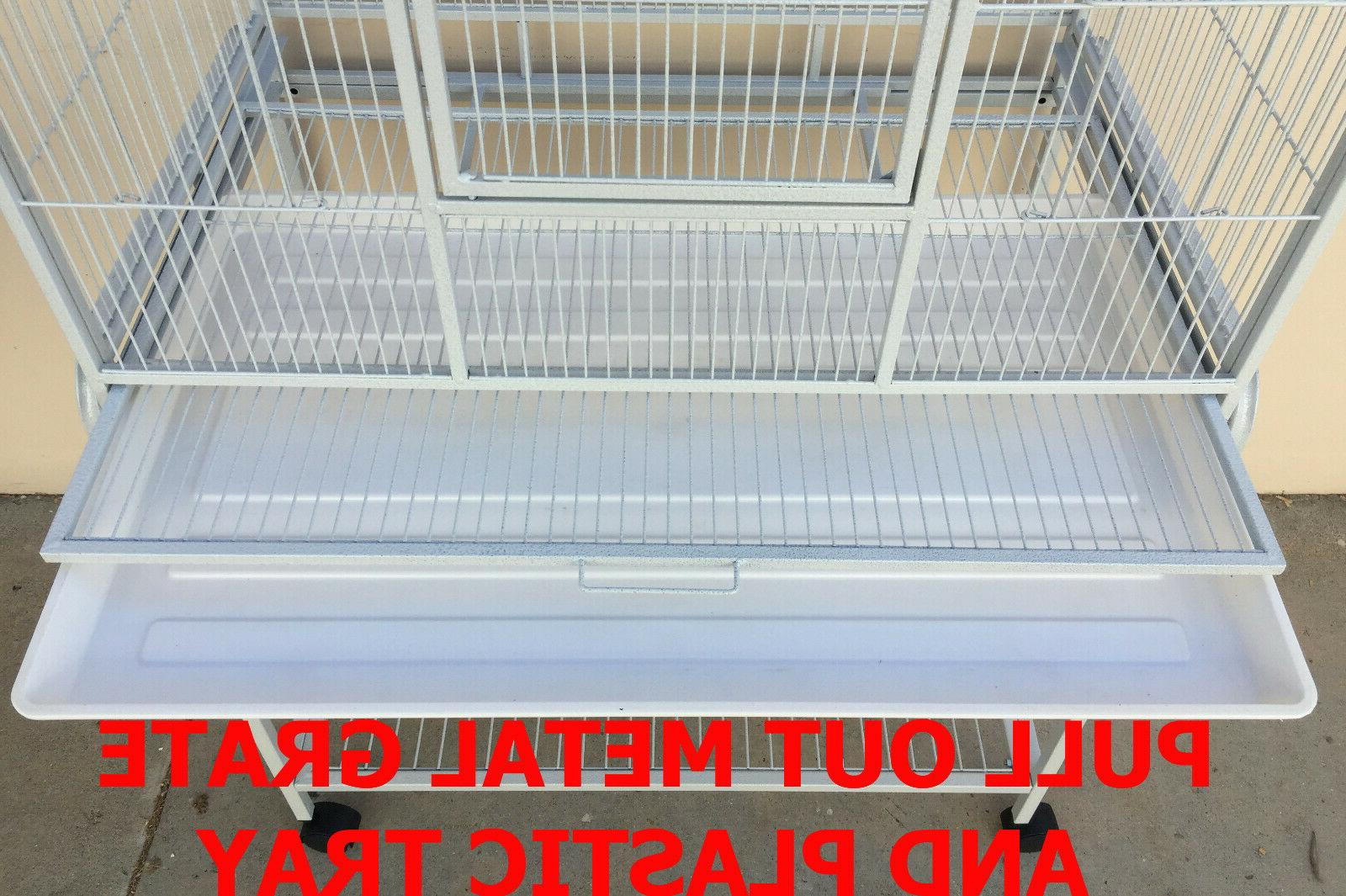 "LARGE 64"" Double Breeding Cage Center Divider"