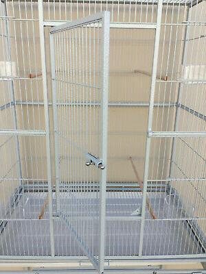 X-LARGE Double Cage For Cockatiel Canary Aviary Finches