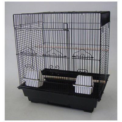 yml flat top bird cage with optional