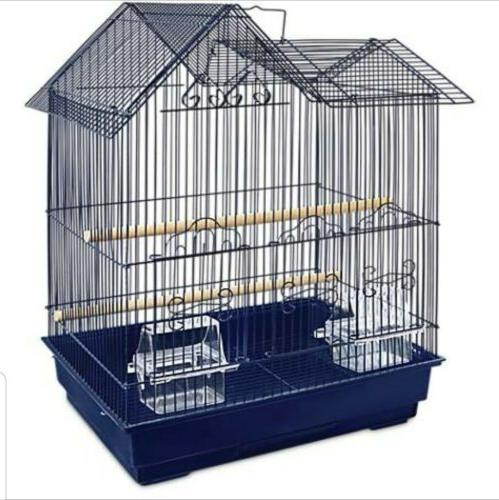 you and me parakeet ranch house cage