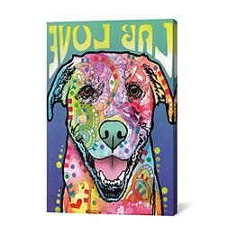 iCanvas Labrador Luv by Dean Russo Canvas Print