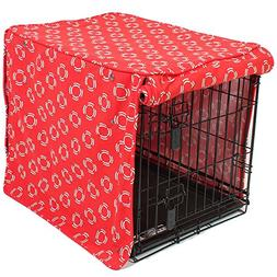 molly mutt Lady in Crate Cover, Red, Gigantic