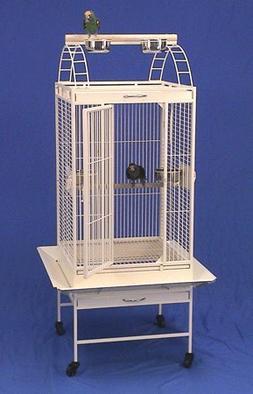 "Lahaina Lanai Playtop Bird Cage with Stand - 22"" X 22"" X 60"""