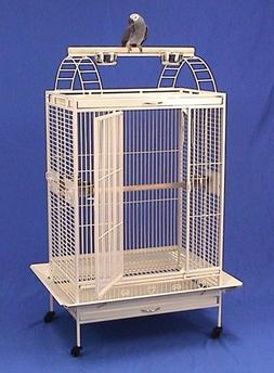 "Lani Kai Lodge Playtop Large Bird Cage with Stand - 32""W x 2"