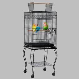"""Large 57"""" Open Play Top Parakeet Bird Cages With Removable S"""