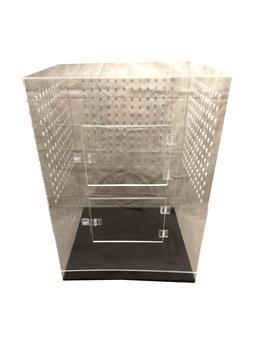 Large Acrylic Bird Cage NestCages Amazing Strength  23 L x 2