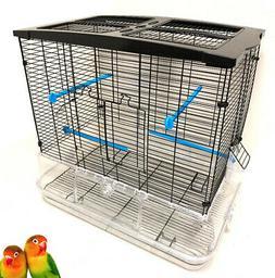 LARGE Acrylic Transparent Canary Parakeet Cockatiel LoveBird