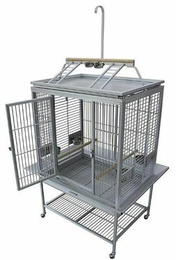 KINGS CAGES ACP 3325 LARGE ALUMINIUM PLAYPEN TOP PARROT CAGE