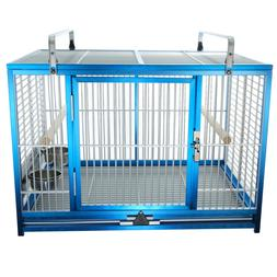 KINGS CAGES LARGE ALUMINIUM PARROT TRAVEL CAGE ATM 2029 bird