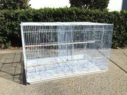 Large Aviary Breeding Bird Finch Parakeet Finch Flight Cage