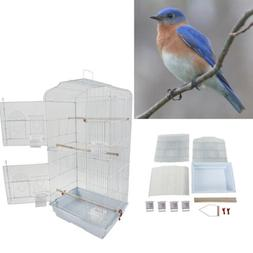 3 Level Bird Parrot Cage Finch Cockatiel House Hanging Pet S