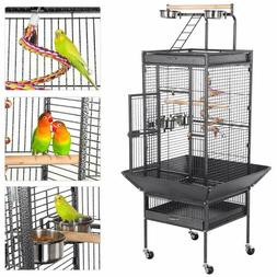 Large Bird Cages for  Parakeets Finches Play Top Bird Cage w