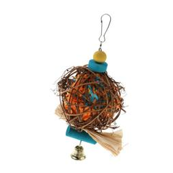 Large Bird Chewing Bite Parrot Cage Hanging Toy for Macaws C