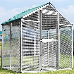 Large Heavy Duty Bird Pet Parrot Cockatiel Cockatoo Cage Cov